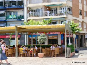 Marathon, Greek Restaurant, Blanes